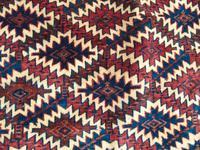 Rare Fabulous Antique Hand Woven Yomut Asmalyk (7 of 8)