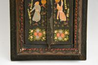 Antique Persian Painted Wood Mirror (9 of 11)