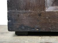 Antique 18th Century Oak Coffer with Carved Detail (4 of 12)