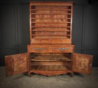 Large Cherrywood & Walnut Dresser (7 of 13)