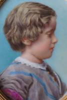 Miniature Portrait of a Young Edwardian Boy c.1910 (2 of 4)