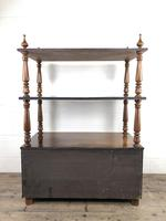 19th Century Mahogany Buffet with Cupboard Base (13 of 18)