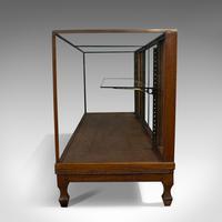Antique Haberdashery Cabinet, Mahogany, Glass, Museum Showcase, Edwardian, 1910 (4 of 9)