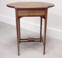 Edwardian Rosewood Occasional Table (6 of 7)