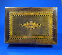 Victorian Rosewood Box With Inlay. (7 of 12)