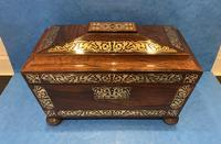 Regency Rosewood Twin Canister Tea Caddy (14 of 23)