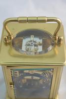 Striking Victorian Brass Carriage Clock (2 of 6)