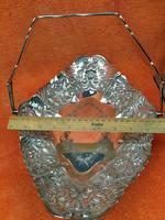Antique Silver Plate Basket or Fruit Bowl   Martin Hall & Co Ltd Sheffield c.1880 (10 of 12)