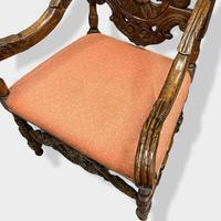 17th Century High Back Armchair (9 of 14)