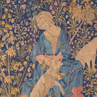 Large Antique Tapestry, French, Needlepoint, Decorative Wall Covering c.1920 (6 of 12)