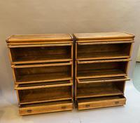Pair of Globe Wernicke Oak Bookcases (5 of 16)