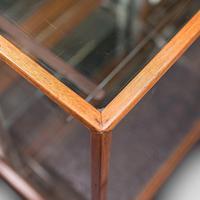 Antique Haberdasher's Display Cabinet, English, Mahogany, Showcase, Edwardian (12 of 12)