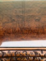 Antique Burr Walnut Nest of 3 Tables (3 of 8)