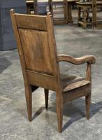 18th Century French Wainscot Armchair (4 of 5)
