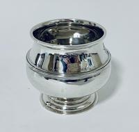 Antique Solid Sterling Silver Sugar Bowl by Walker & Hall (8 of 12)