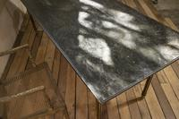 18th Century Faux Quilted Maple Painted Swedish Table (15 of 16)