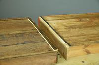 Large Antique Pine Kitchen Table (3 of 11)