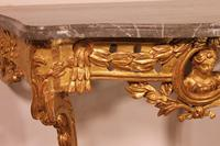 Giltwood Console From The 18th Century - Transition Period (louis XV-louis XVI) -france (11 of 13)