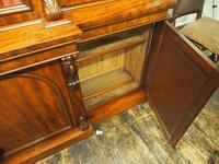Victorian Mahogany Breakfront Cabinet Bookcase (10 of 19)