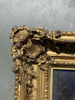 Verre Eglomise Portrait of Madonna (5 of 12)