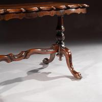 Mid 19th Century Shaped Rosewood Coffee Table (9 of 9)