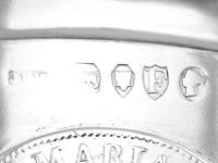 Sterling Silver Coin Beaker - Antique Victorian (13 of 21)