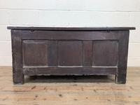 18th Century Oak Coffer with Inlay (13 of 13)