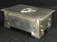 Arts & Crafts Silver Plated Casket Martin Chuzzlewit