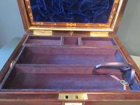 Superb Victorian Rosewood Fitted Jewellery Box (4 of 9)