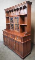 Wood Bros Old Charm Oak Dresser Tudor Brown (11 of 11)