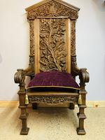 Gothic Revival Throne (11 of 20)