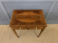 Sheraton Revival Inlaid Table (2 of 18)