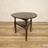 18th Century Oak Cricket Table (16 of 16)