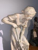 Large Terracotta Figure by Frederic Goldscheider (2 of 8)