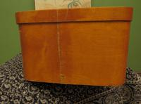 Antique Bentwood Plywood Storage Box by Luterma (9 of 16)