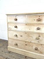 Antique Pine Chest of Drawers on Plinth Base (5 of 9)