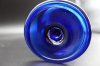 Late 18th Century Bristol Blue Sugar Bowl (4 of 4)
