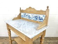 Antique Pine & Marble Washstand (8 of 10)