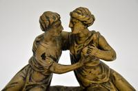 Antique Carved Wood Classical Sculpture (5 of 12)