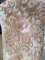 Victorian Mahogany  Upholstered Prayer Chair (5 of 8)