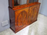 Tall George III Mahogany Cabinet Bookcase (3 of 13)