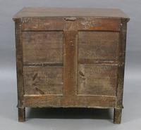 17th Century Oak Chest of Small Proportions (6 of 6)