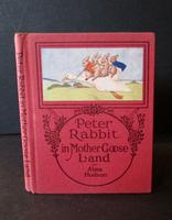 1921 Peter Rabbit in Mother Goose Land by Alma Hudson 1st Edition (3 of 6)
