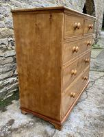 Antique Pine Chest of Drawers (9 of 17)