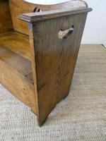Liberty Arts & Crafts Oak Hall Bench (3 of 11)