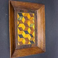 Small Parquetry Inlaid Tray (4 of 5)