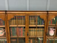 Shapland & Petter Burr Walnut Bookcase (10 of 23)