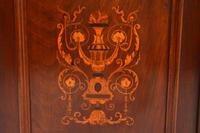 Antique Victorian Inlaid Mahogany 2 Section Bookcase (8 of 11)