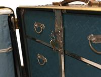 Vintage Steamer Trunk Luggage Case Harrison and  Co New York (28 of 28)