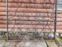 Antique Wrought Iron Garden Gate (5 of 5)